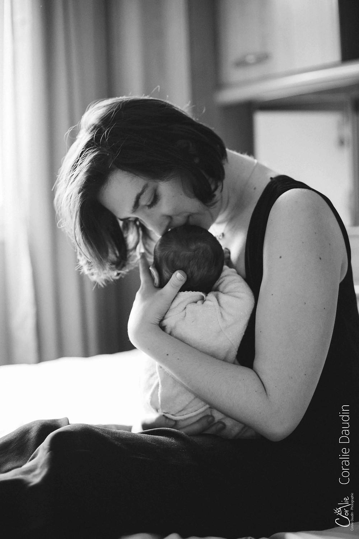 photographie mère et son nourrisson