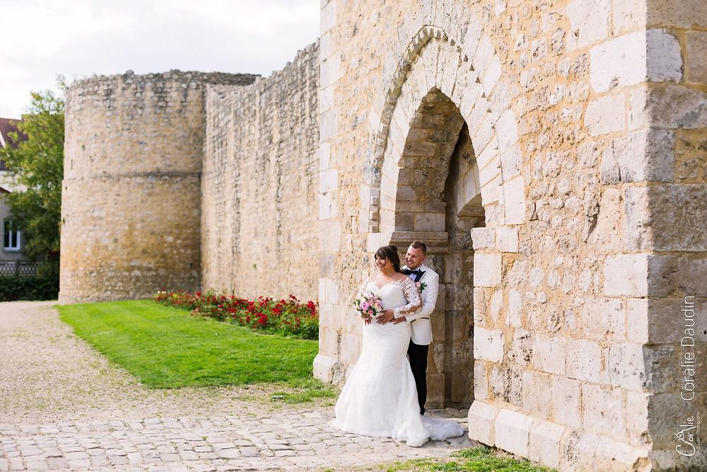 photo de couple château de Brie compte Robert