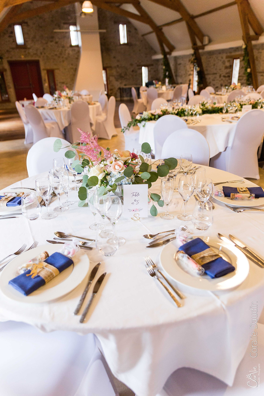 photo décoration table mariage
