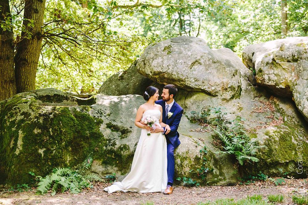 photo couple mariage Manoir des Roches