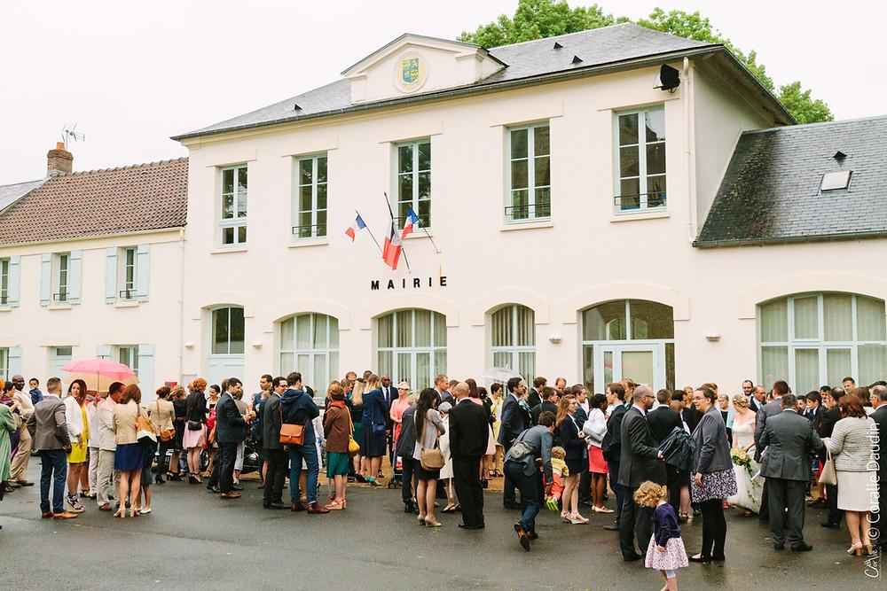 Photographe mariage cérémonie à la mairie