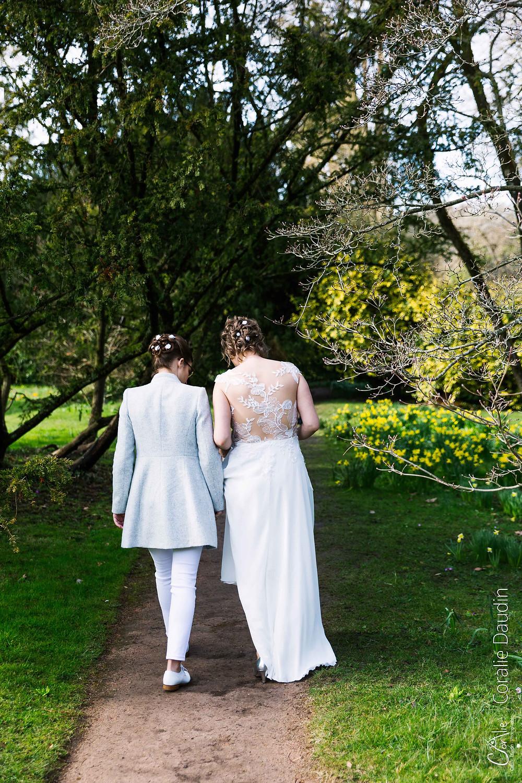 reportage photo mariage arboretum Chatenay Malabry