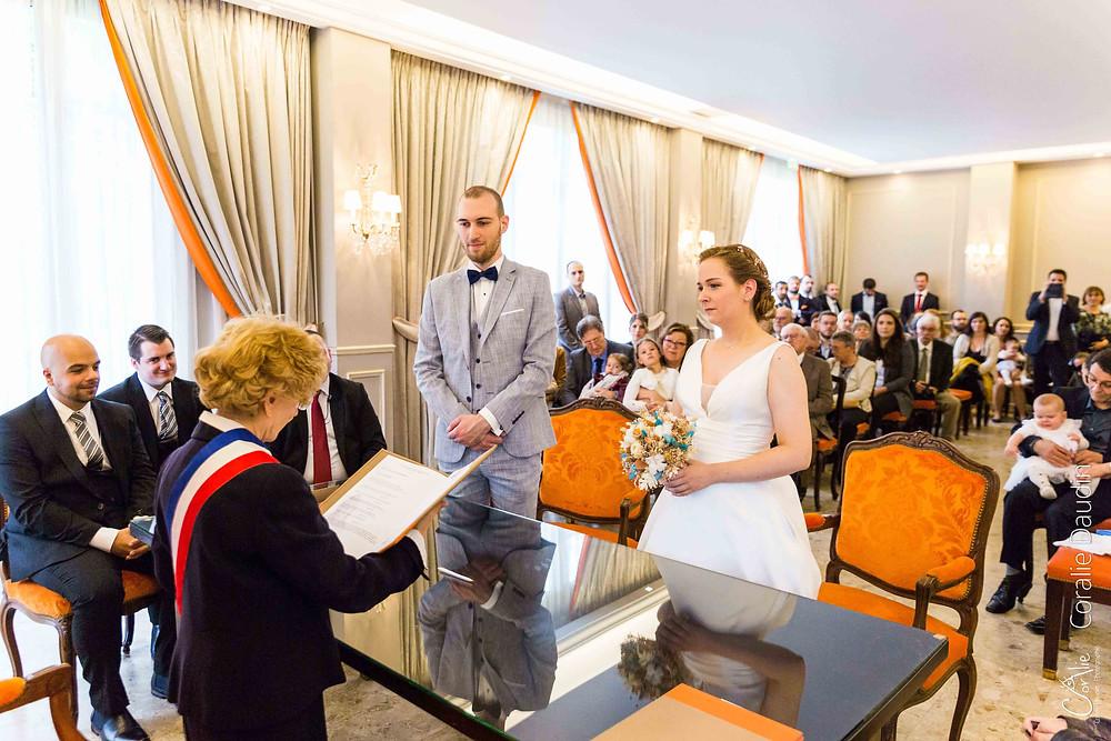 mariés à la mairie de Yerres en Essonne