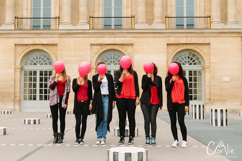 Séance photo EVJF dans Paris