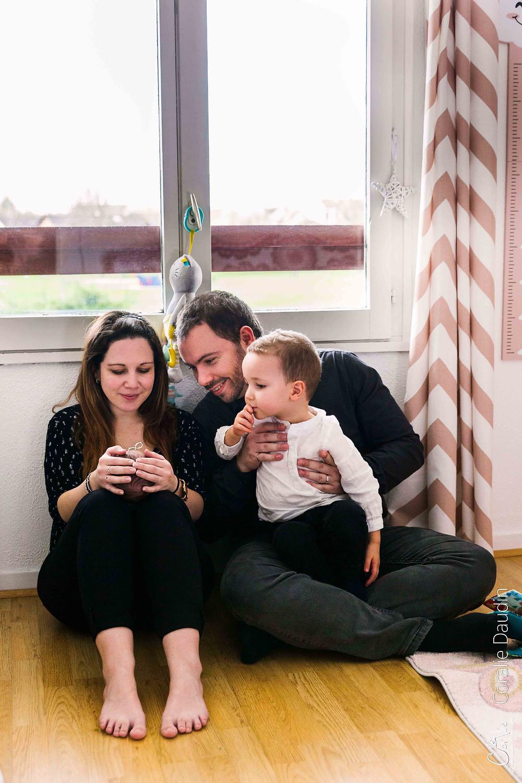 Séance photo famille à domicile à Wissous