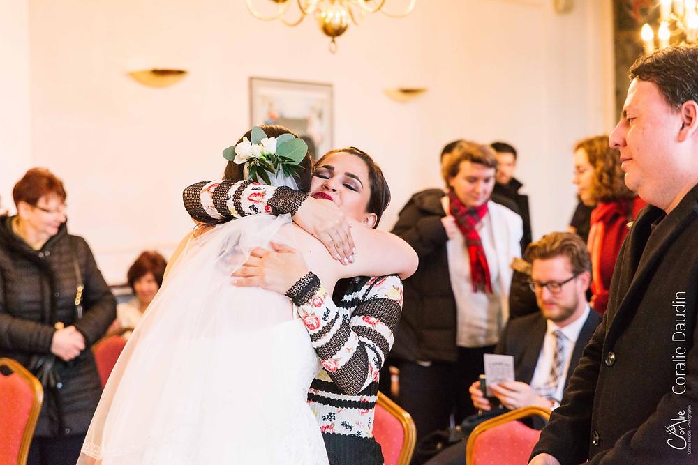 Photographe mariage d'hiver Villiers-sur-Marne