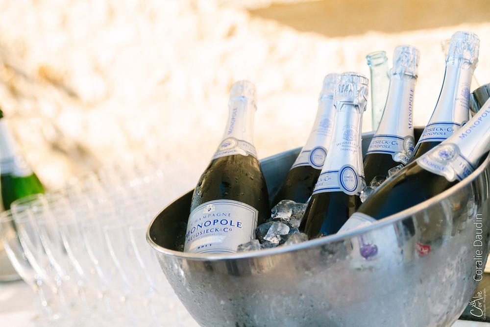 Reportage photo de mariage vin d'honneur