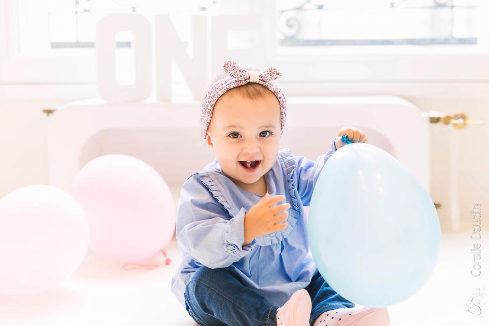 Séance photo bébé 1 an