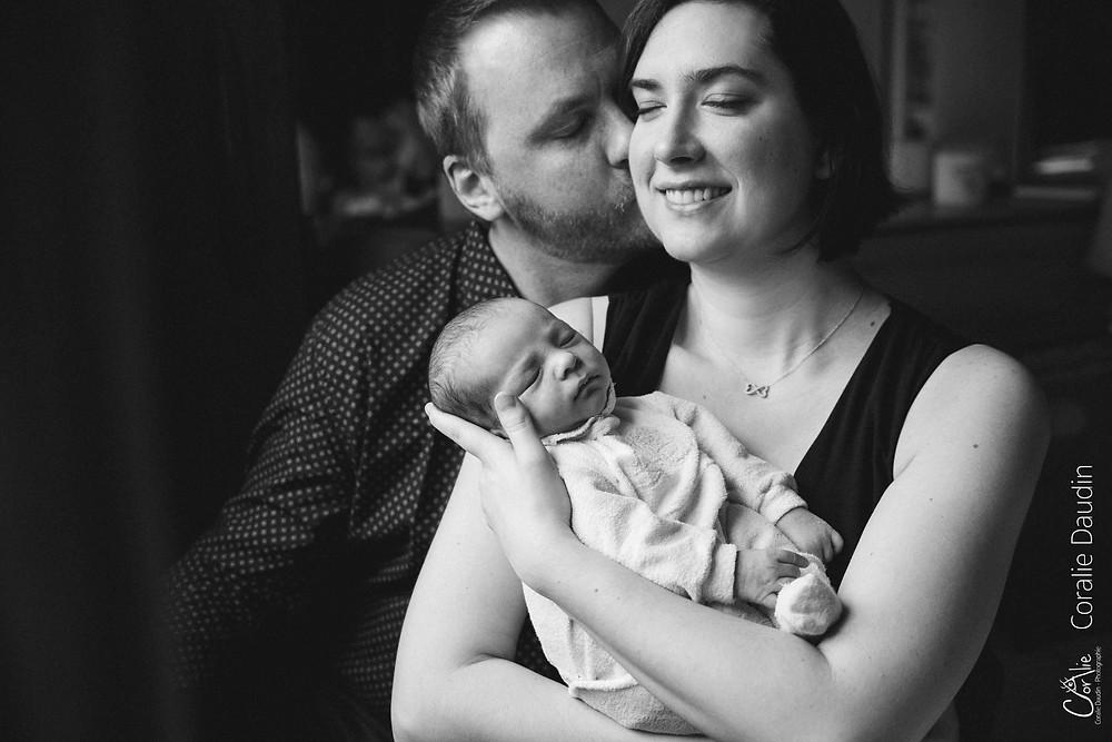 Photographe séance photo naissance Bourg-la-Reine
