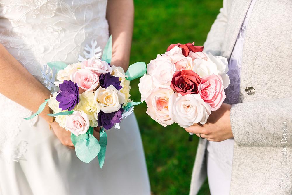 bouquets des mariées