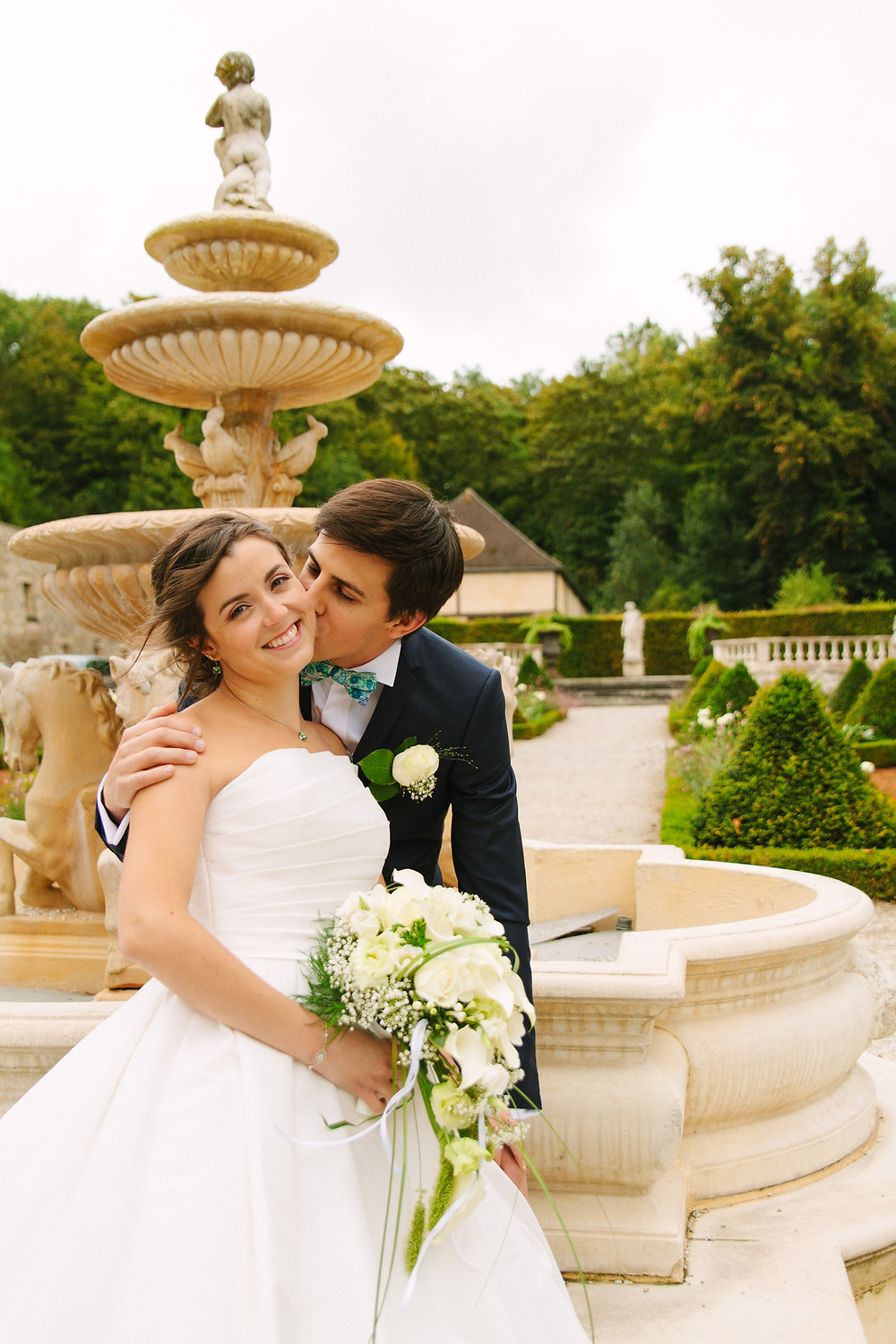 Photo couple reportage mariage Val d'Oise