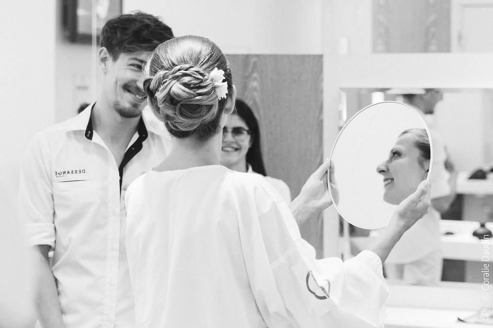 Coiffure mariée photographe mariage ile de France