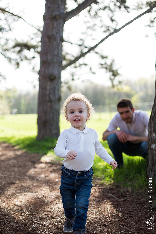 Séance photo enfant au parc de Sceaux
