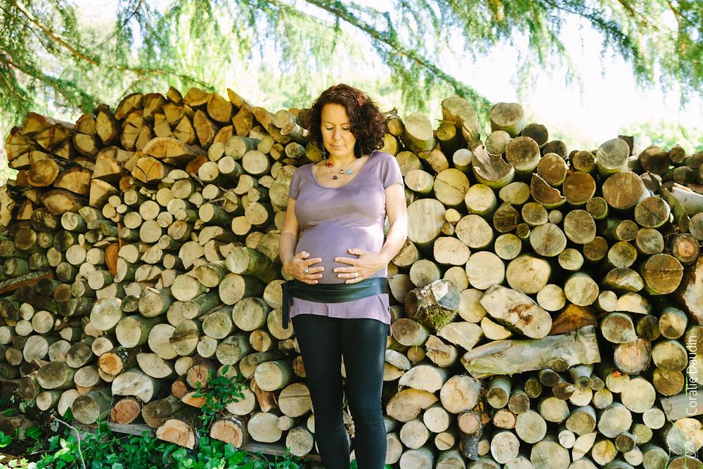 Séance grossesse en extérieur - Isère