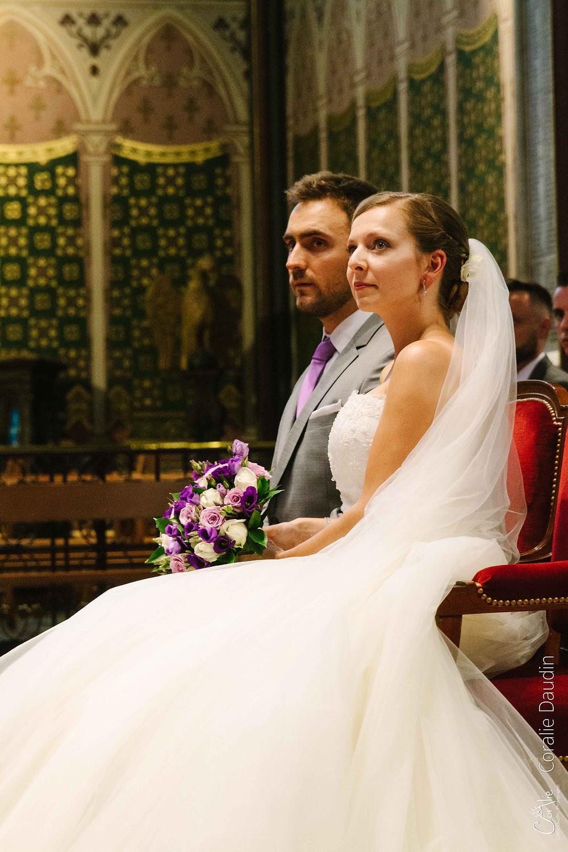 Photographie cérémonie mariage Boulogne-Billancourt
