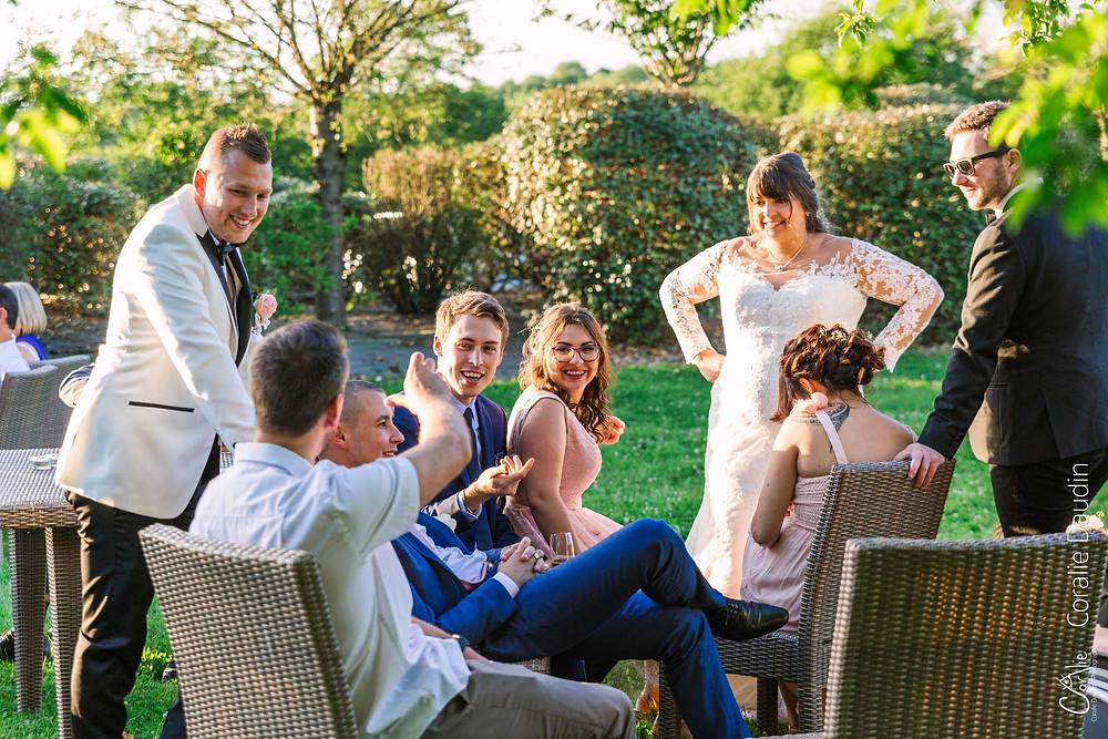 vin d'honneur mariage Prieuré de Vernelle