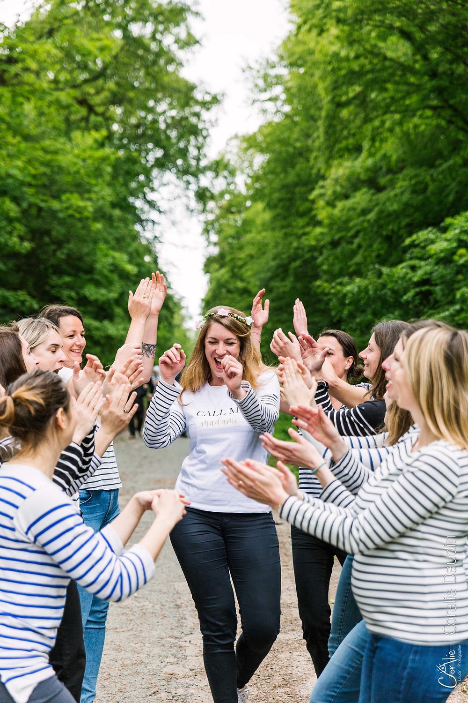 Shooting photo - activité entre amies pour un Enterrement vie de jeune fille
