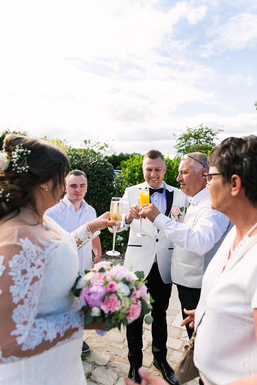 reportage photo mariage vin d'honneur Ile de France