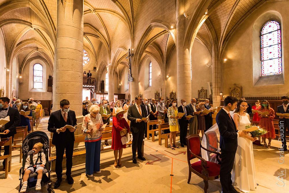 reportage photo cérémonie religieuse mariage à Verrières-le-Buisson