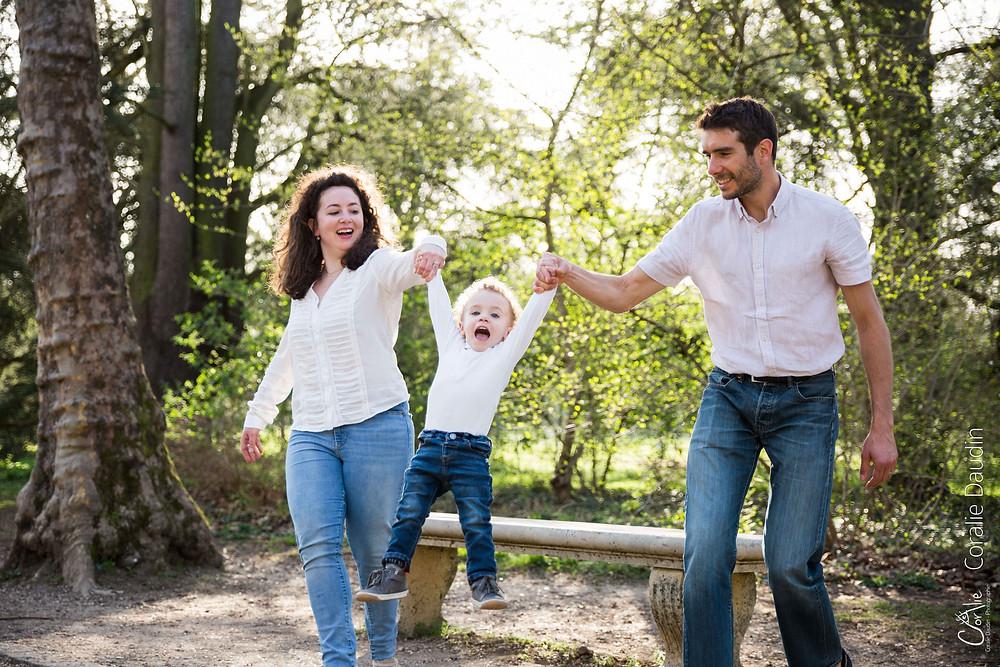 Séance photo en famille à Sceaux (92)