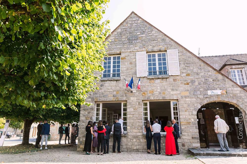 Cérémonie mariage mairie Chailly-en-Bière