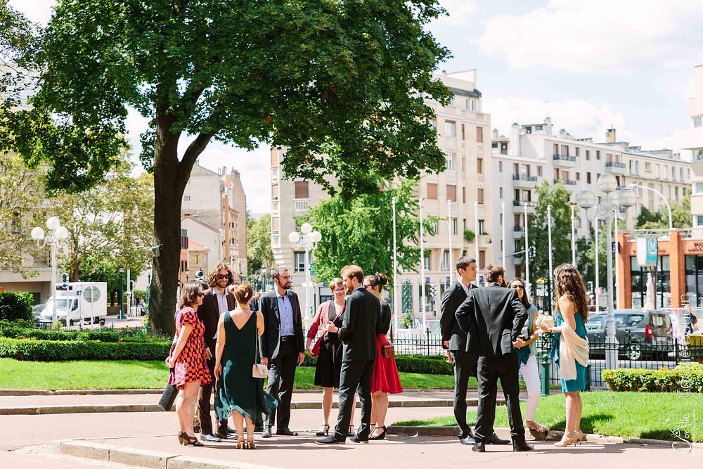 reportage photo cérémonie mariage mairie de Montrouge
