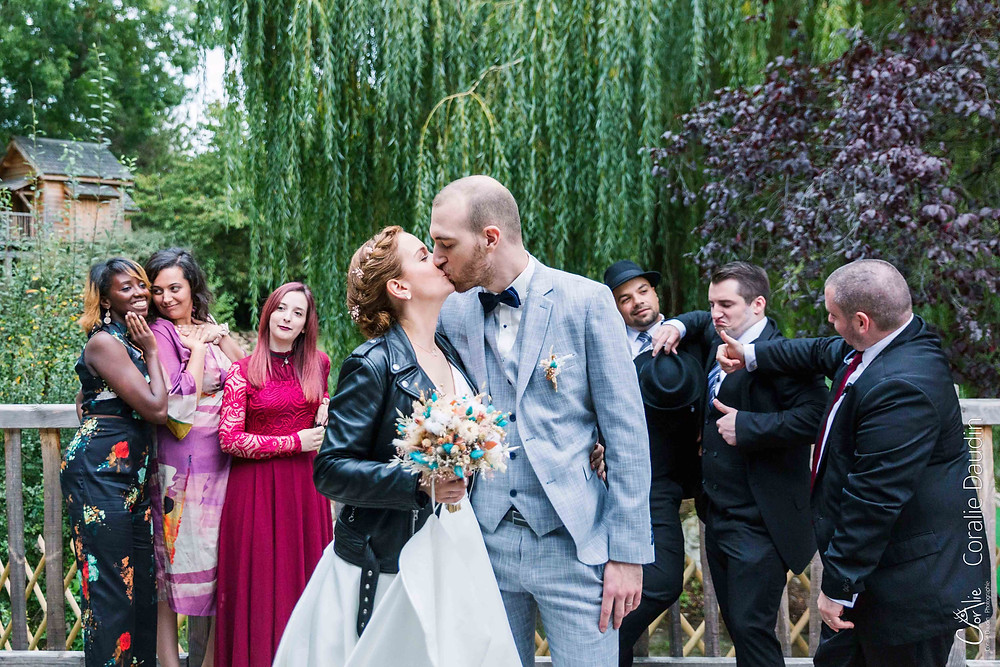 photographie groupe mariage Essonne
