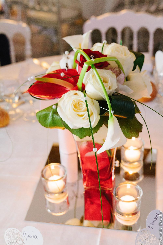 Photo décoration salle de réception - Coralie Daudin-Photographe mariage Essonne- reportage mariage