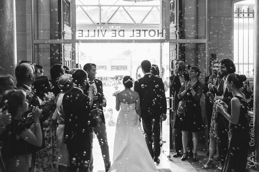 reportage mariage cérémonie civile Montrouge
