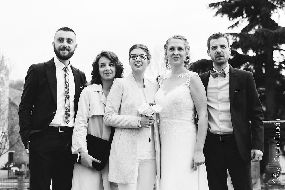 Photo témoins mariage Chaville