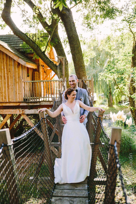 mariage cabane dans les arbres en Essonne