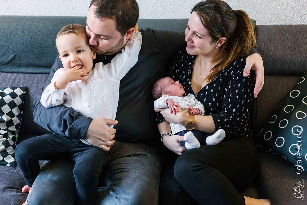 photographe naissance à domicile à Wissous