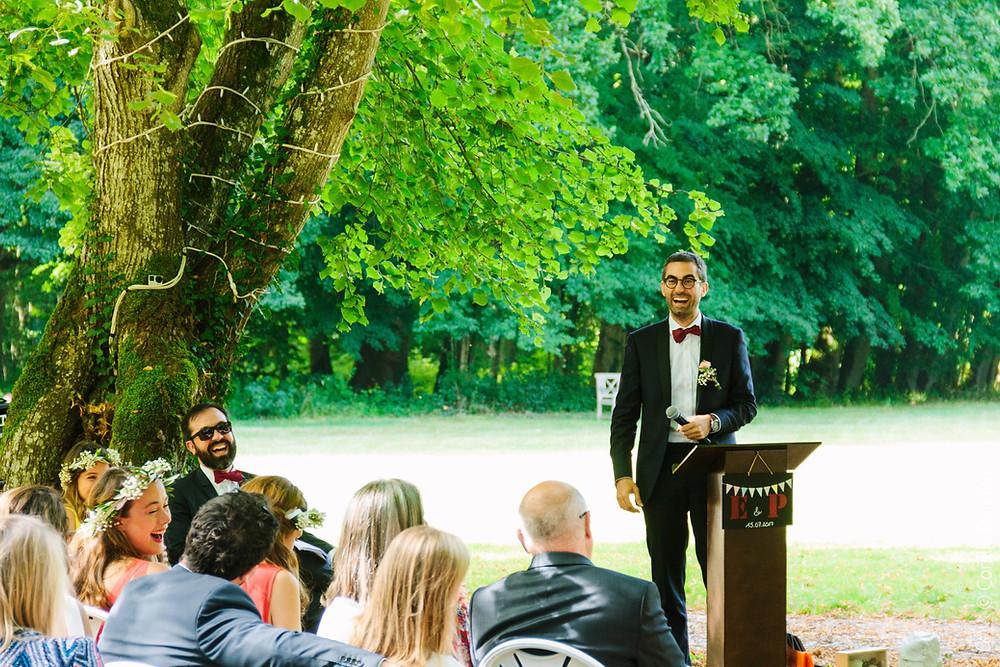 Photographe cérémonie laïque mariage Bourgogne - Yonne - La Belliole