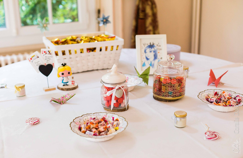candy bar mariage Fontainebleau
