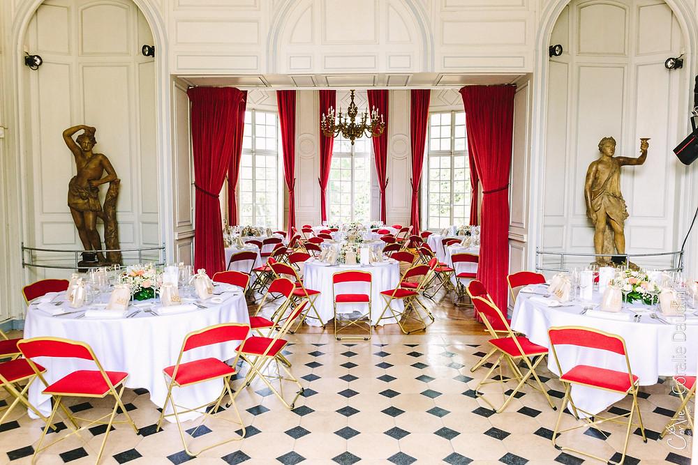 Réception mariage Château du Breuil, Yvelines