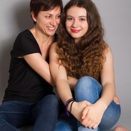 Séance photo mère-fille - Le Plessis-Robinson