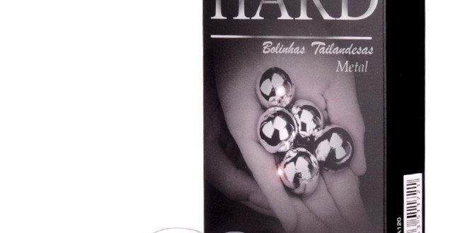 Bolinha Hard Metal – Cromada