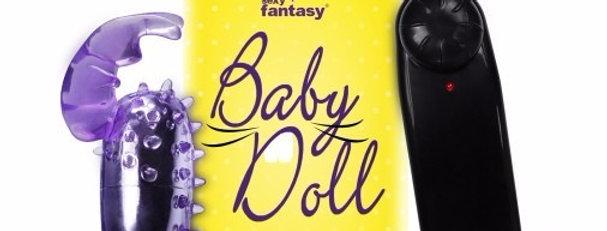 VIBRADOR BULLET BABY DOLL COM CAPA DE ELEFANTE SEXY FANTASY