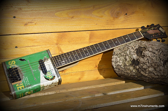 Can guitar Solexine 6 cordes handmade 2018