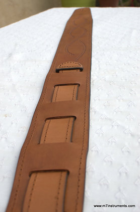 Handcrafted Leather Guitar Straps