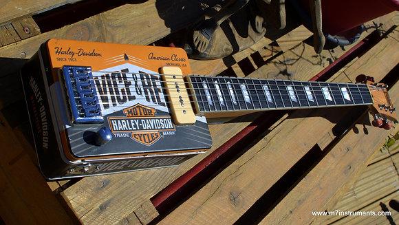 "6-string ""Harley Davidson"" guitar"