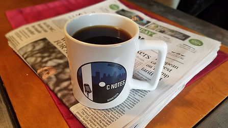 official C Notes band coffee mug
