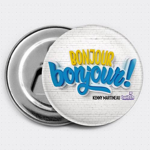 "Magnet ""Bonjour bonjour"""