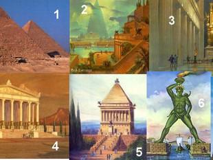 Tu te coucheras moins con #5 :  Les 7 merveilles du monde c'était quoi ?