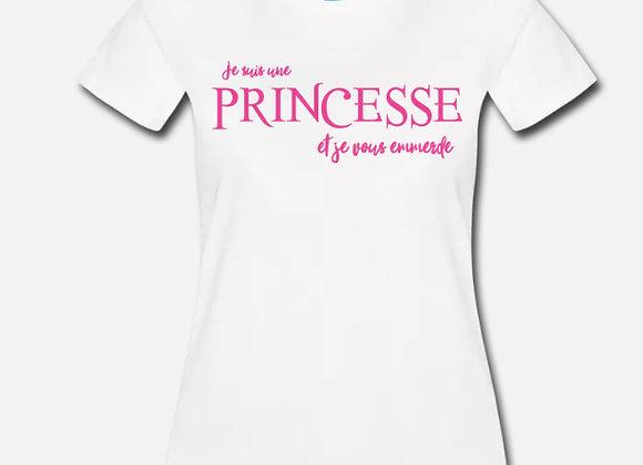 T-shirt FEMME Col ROND Coton