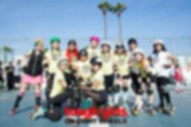 Long Beach Junior Roller Derby, mimi masher, valery verdin, marina debrincat, natahsa morein, princess pain, chesire brat, stephany arriaga, jennifer arriaga