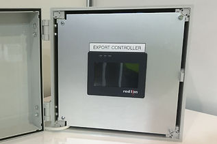 Solar Zero Export control system for inverter ramping