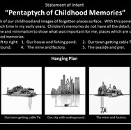 Pentaptych of Childhood Memories - State