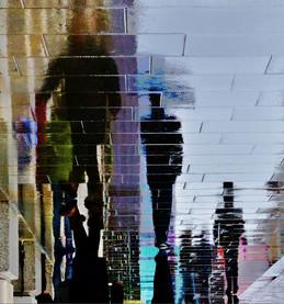 Pavement art in London -  Streets of Lon