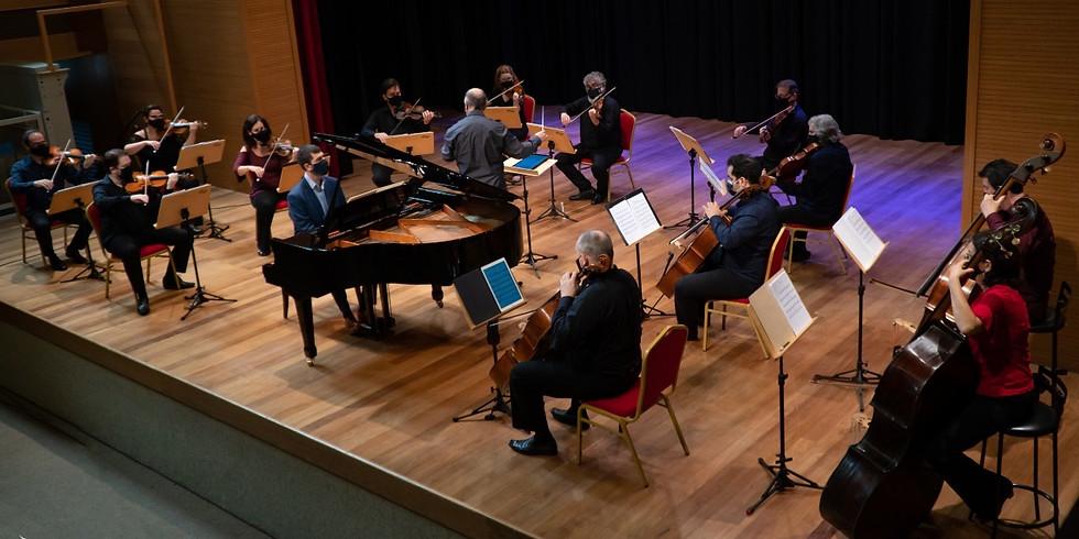 Orquestra Versatilis convida André Mehmari - Regência: Jean Reis - Para o LINK clique em SAIBA MAIS